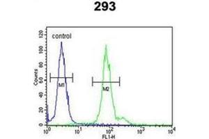 Flow Cytometry (FACS) image for anti-Inhibitor of DNA Binding 4, Dominant Negative Helix-Loop-Helix Protein (ID4) (AA 1-30), (N-Term) antibody (ABIN952816)