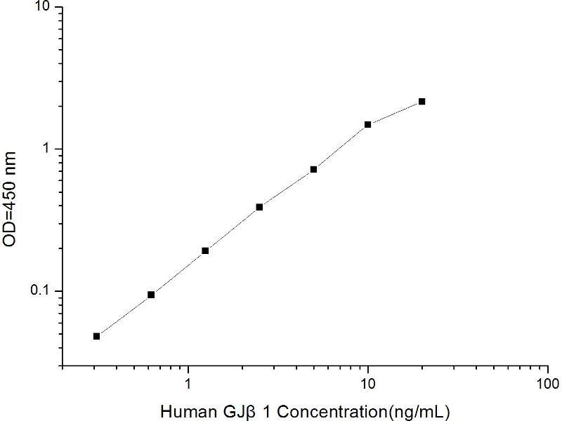 Gap Junction Protein, beta 1, 32kDa (GJB1) ELISA Kit (2)