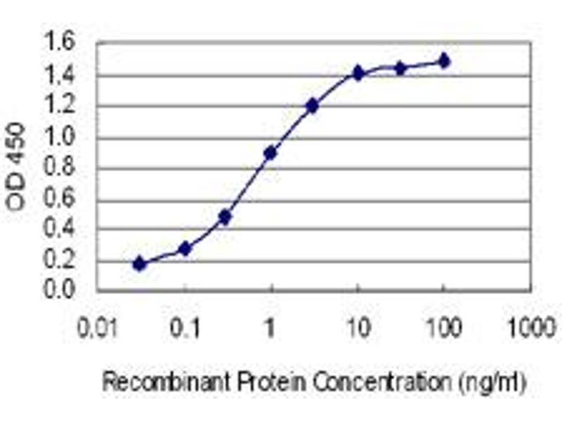ELISA image for anti-Serotonin Receptor 2B antibody (HTR2B) (AA 1-56) (ABIN1327052)
