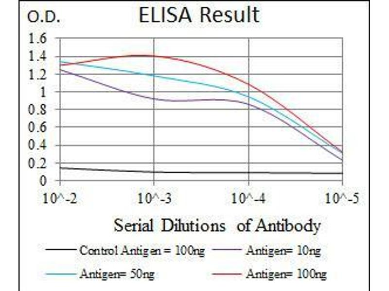 ELISA image for anti-CD6 antibody (CD6) (AA 472-668) (ABIN1098118)