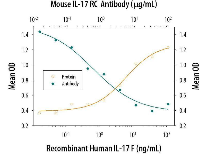 Neutralization (Neut) image for anti-Interleukin 17 Receptor C (IL17RC) (AA 21-465) antibody (ABIN4899597)