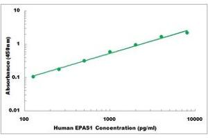 Image no. 1 for Endothelial PAS Domain Protein 1 (EPAS1) ELISA Kit (ABIN5526793)