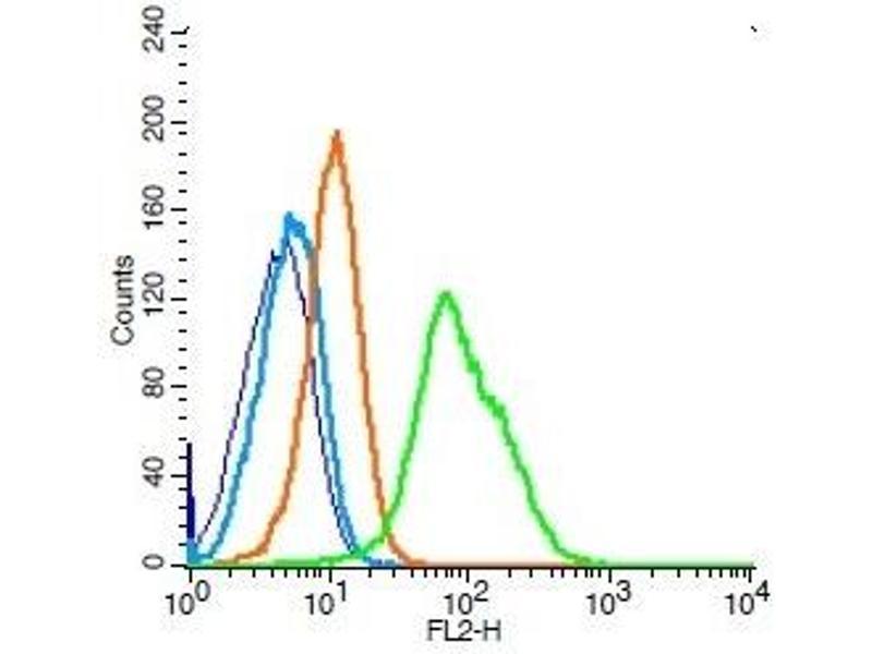 Flow Cytometry (FACS) image for anti-CD34 Molecule (CD34) antibody (ABIN1713693)