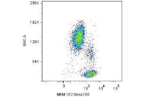Flow Cytometry (FACS) image for anti-CD48 Molecule (CD48) antibody (APC) (ABIN192135)