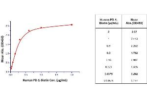Image no. 2 for PD-1 [Biotinylated] : PD-L1 Inhibitor Screening ELISA Assay Pair (ABIN2762507)
