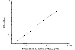 Image no. 2 for Heterogeneous Nuclear Ribonucleoprotein A1 (HNRNPA1) ELISA Kit (ABIN1115420)