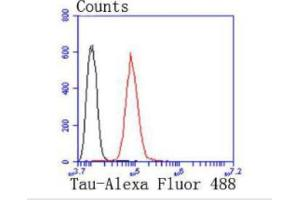 Flow Cytometry (FACS) image for anti-Microtubule-Associated Protein tau (MAPT) (C-Term) antibody (ABIN5950427)