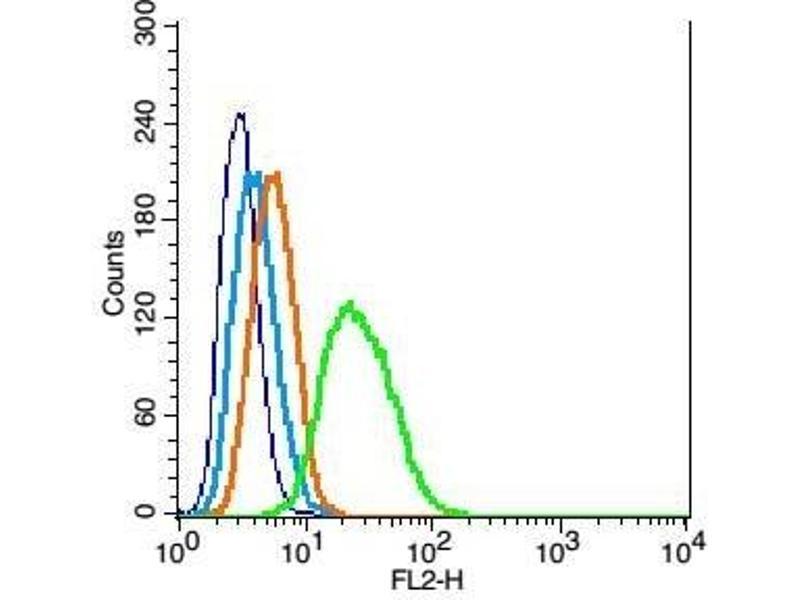 Flow Cytometry (FACS) image for anti-Neurotrophic Tyrosine Kinase, Receptor, Type 2 (NTRK2) (AA 370-429) antibody (ABIN725870)