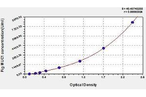 Image no. 1 for Mucin 1, Cell Surface Associated (MUC1) ELISA Kit (ABIN578641)