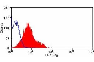 Flow Cytometry (FACS) image for anti-PD-L1 antibody (CD274 Molecule)  FITC (ABIN317020)