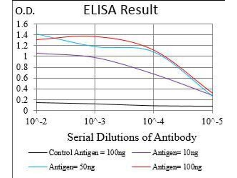 ELISA image for anti-Villin 1 (VIL1) (AA 1-209) antibody (ABIN5542405)