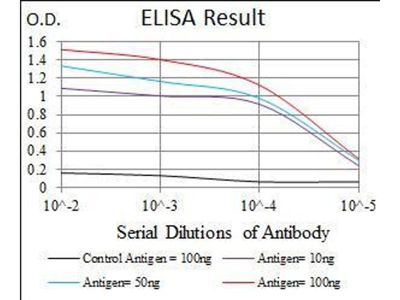 ELISA image for anti-Goosecoid Homeobox (GSC) (AA 191-257) antibody (ABIN1724843)