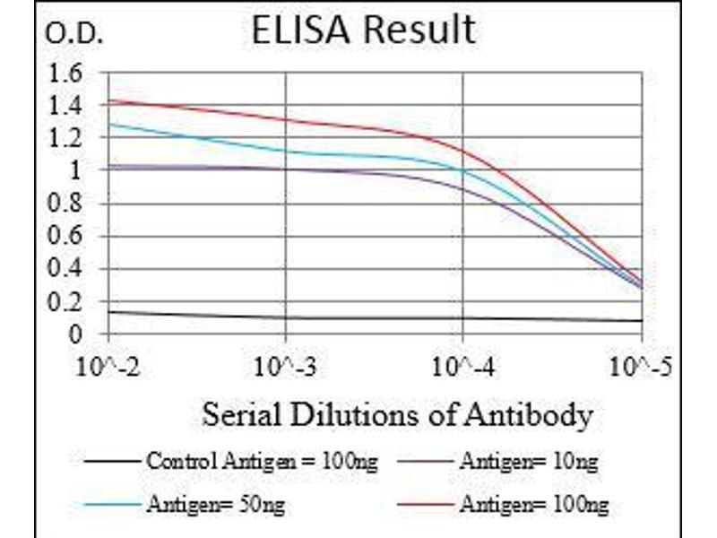 ELISA image for anti-Prokineticin Receptor 2 (PROKR2) antibody (ABIN4881203)