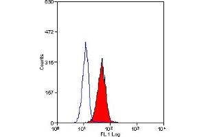 Flow Cytometry (FACS) image for anti-IGF1R antibody (Insulin-Like Growth Factor 1 Receptor) (ABIN2487673)