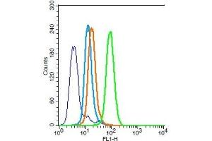Flow Cytometry (FACS) image for anti-BAX antibody (BCL2-Associated X Protein) (AA 60-110) (ABIN725390)