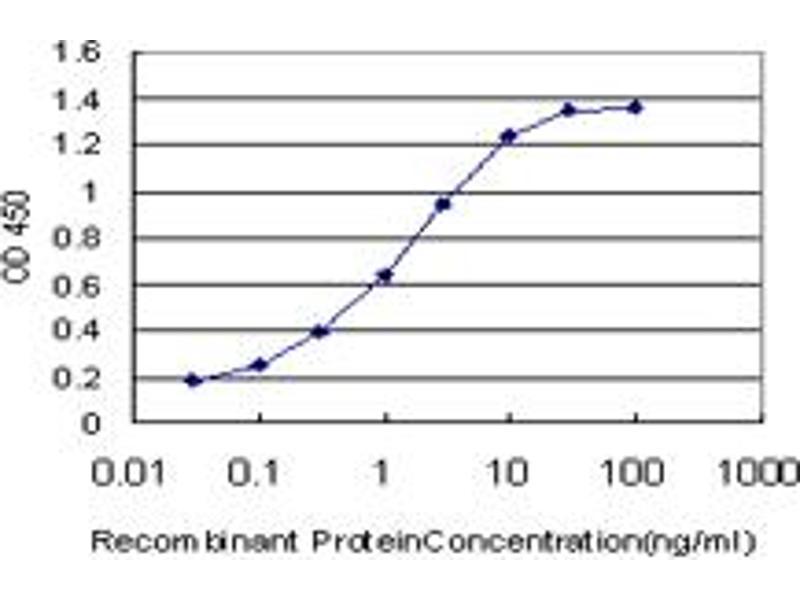 ELISA image for anti-Inhibitor of kappa Light Polypeptide Gene Enhancer in B-Cells, Kinase gamma (IKBKG) (AA 1-419), (full length) antibody (ABIN563664)